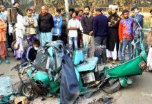 Photo of বগুড়ায় অটোরিকশায় বাসের ধাক্কা, নিহত ৪