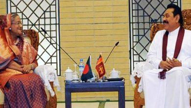 Photo of হাসিনা-রাজাপাকসে বৈঠক: তিন সমঝোতা স্মারক সই