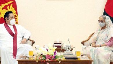 Photo of দুই দেশের মধ্যে বাণিজ্য বাড়াতে চান হাসিনা-রাজাপাকসে