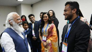 Photo of মোদির সঙ্গে দেখা করেছেন সাকিব
