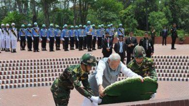 Photo of জাতীয় স্মৃতিসৌধে মোদির শ্রদ্ধা