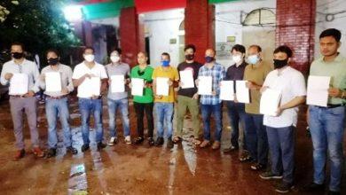 Photo of স্বেচ্ছায় কারাবরণের আবেদন নিয়ে শাহবাগ থানায় সাংবাদিকরা