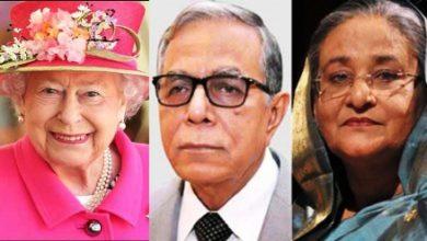Photo of রানি এলিজাবেথের জন্মদিনে রাষ্ট্রপতি-প্রধানমন্ত্রীর শুভেচ্ছা