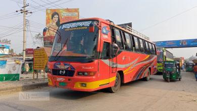Photo of দূরপাল্লার বাস চলাচল শুরু